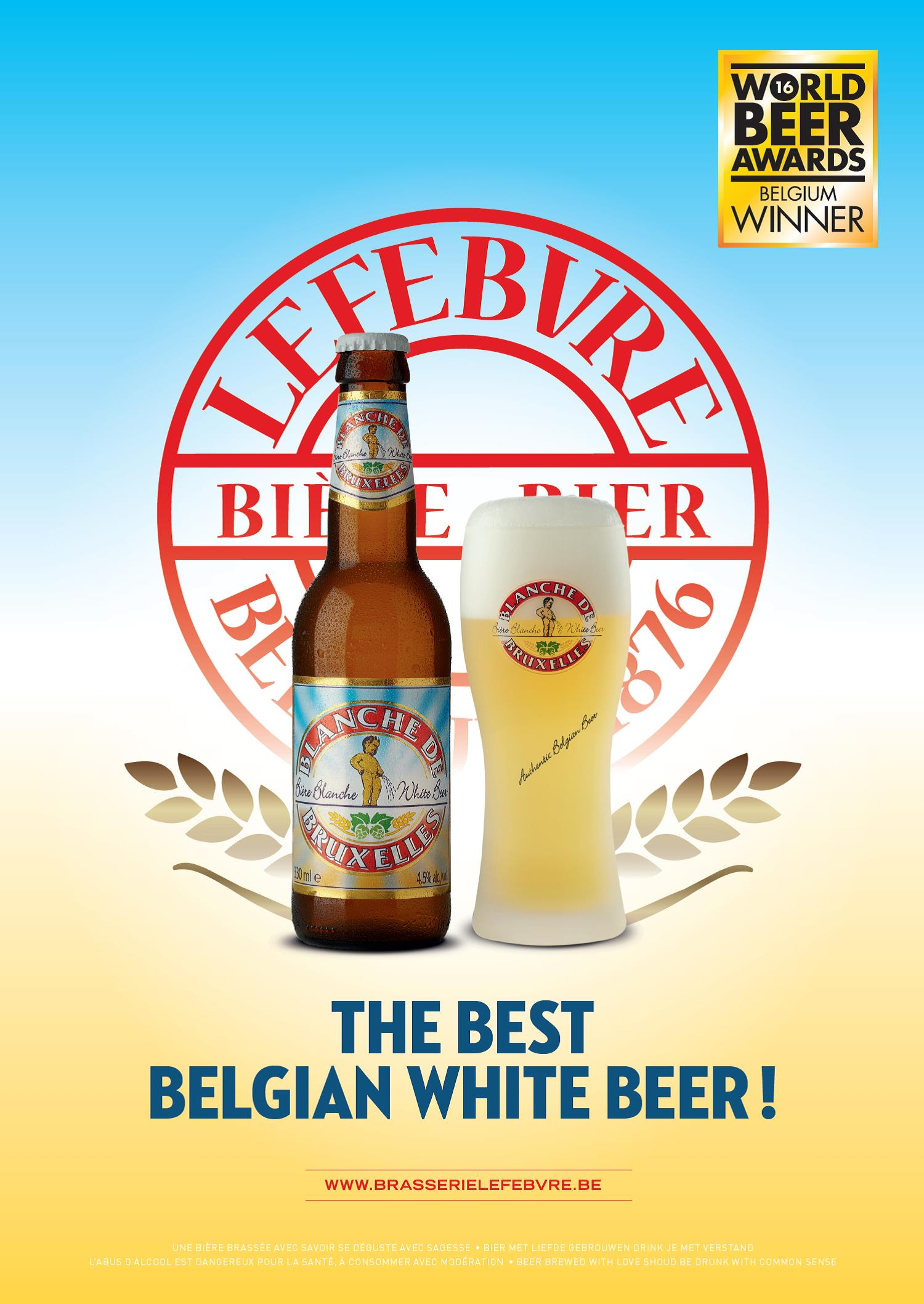 Lefebvre World Best White Beer